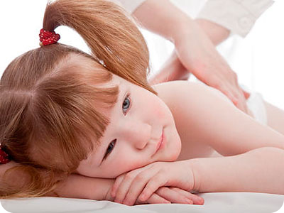massage for children